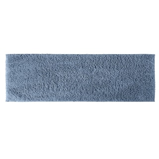 Somette Grace Sky Blue Cotton 22 x 60 Bath Runner