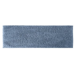 Grace Sky Blue Cotton 22x60 Runner Bath Rug