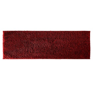 Grace Chili Pepper Red Cotton 22 x 60 Bath Runner