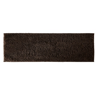 Grace Chocolate Cotton 22 x 60 Bath Runner