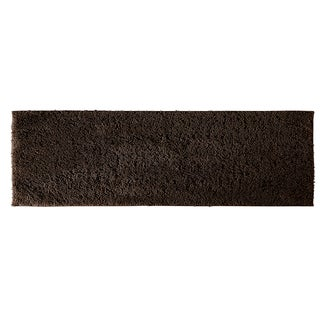 Grace Chocolate Cotton 22x60 Runner Bath Rug