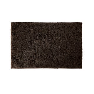 Grace Chocolate 21x40 Cotton Bath Rug