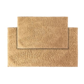 Grace Natural Cotton 2-piece Bath Rug Set