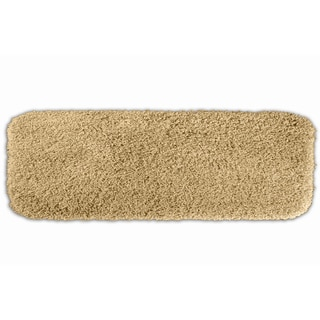Somette Serenity Washable Golden Sand 22 x 60 Bath Runner