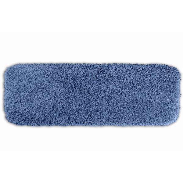 Somette Serenity Washable Pacific Blue 22 x 60 Bath Runner