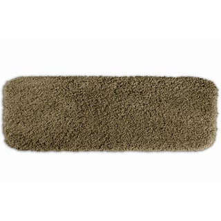 Somette Serenity Plush 22x60 Taupe Bath Runner