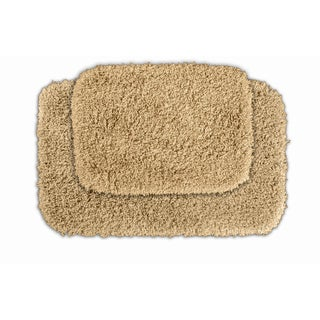 Serenity Golden Sand Bath Rug (Set of 2)