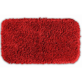Somette Serenity Chili Pepper Red 30x50 Bath Rug