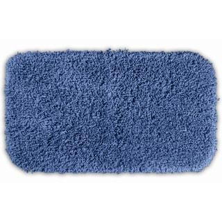 Somette Serenity Basin Blue 30 x 50 Bath Rug