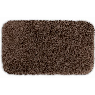 Somette Serenity Chocolate 30x50 Bath Rug