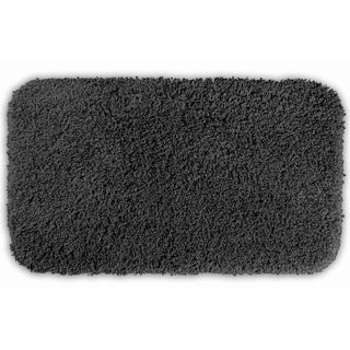 Somette Serenity Dark Grey 30x50 Bath Rug