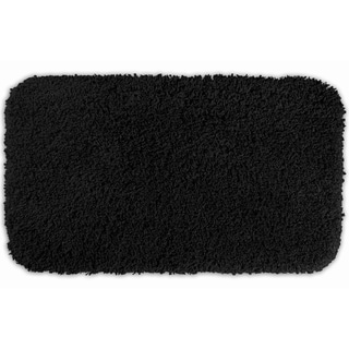 Somette Serenity Black 30 x 50 Bath Rug