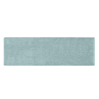 Somette Xavier Stripe Sea Foam 22 x 60 Bath Runner
