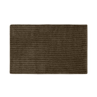 Xavier Stripe Chocolate 24x40 Bath Rug