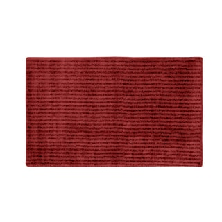 Xavier Stripe Chili Pepperl Red 30x50 Bath Rug