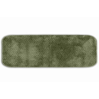 Somette Enliven Textured Deep Fern Bath Runner