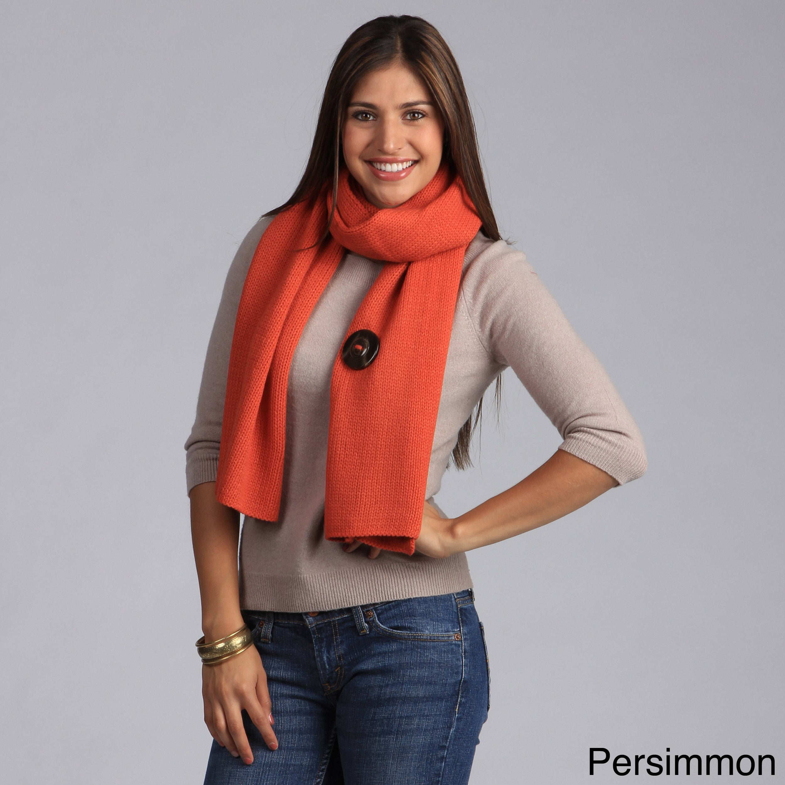 Overstock.com Saro Women's Knitted Acrylic Wrap at Sears.com