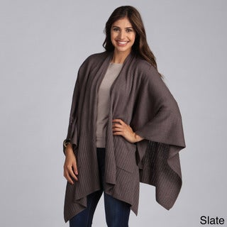 Women's Solid Knitted Wrap