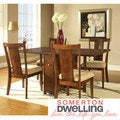 Somerton Dwelling Runway 5-piece Gate Leg Dining Set