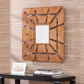 Grason Square Burst Decorative Wall Mirror