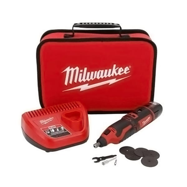 Milwaukee Cordless Lithium-Ion Rotary Tool Kit