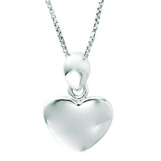 Sterling Silver Children's Heart Necklace