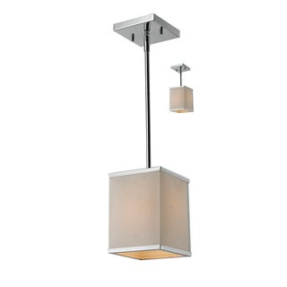 'Rego' Chrome 1-light Mini Pendant