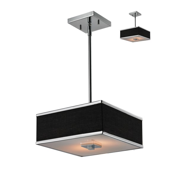 Rego Chrome 2-Light Pendant