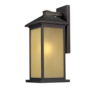 'Vienna' Oil Rubbed Bronze Outdoor Wall Mount Light