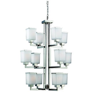 Affinia 12-light Chrome Chandelier