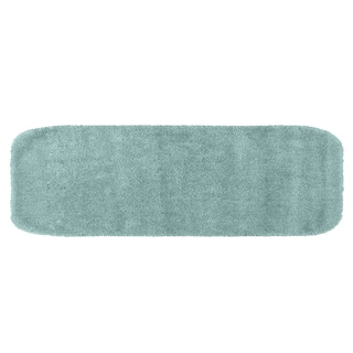 Somette Plush Deluxe Caribbean Blue 22 x 60 Bath Runner
