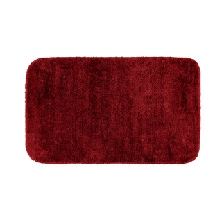 Plush Deluxe Chili Pepper Red 24x40 Bath Rug