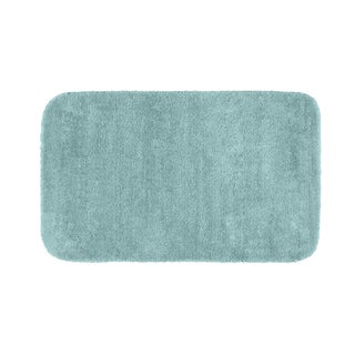 Somette Plush Deluxe Sea Foam 30 x 50 Bath Rug