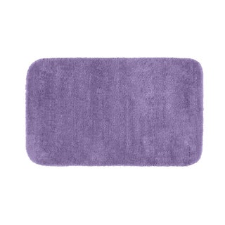 Somette Plush Deluxe Purple 30 x 50 Bath Rug