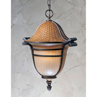 Bombay English Bronze Outdoor 3-light Pendant