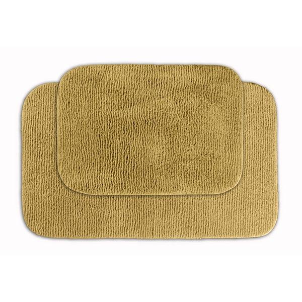 Ultra Soft High Pile Plush Bath Mat Rug 21in X 34in Non: Bath Rugs & Bath Mats