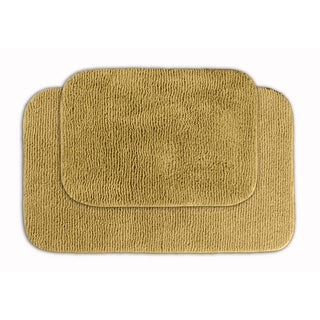 Cheltenham Linen 2-piece Bath Rug Set