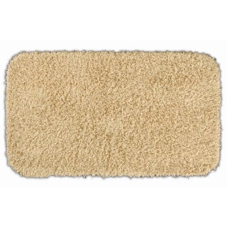 Quincy Super Shaggy Sand 30x50 Bath Rug