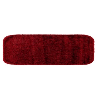 Plush Deluxe Chili Pepper Red 22 x 60 Bath Runner