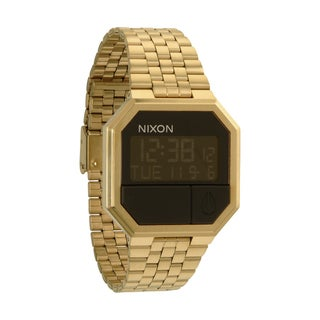 Nixon Men's 'Re-Run A158' All Goldtone Watch