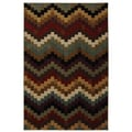 Bargello Multi Rug (5'3 x 7'10)