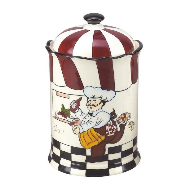 Lorren Home Trend Fun Chef 12-inch Cookie Jar