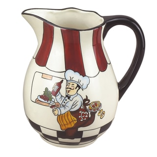 Lorren Home Trend Fun Chef 7.5-inch Pitcher