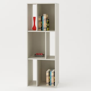 White Bookcase/ TV Stand
