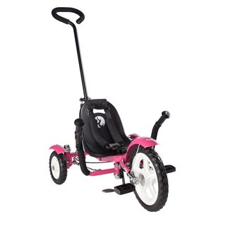 Mobo Total Tot The Roll-to-Ride Three Wheeled Pink Cruiser