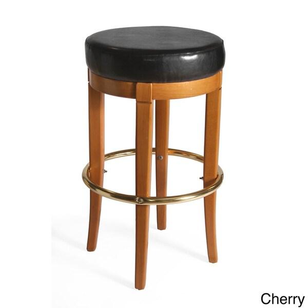 Columbus Upholstered Backless Barstool