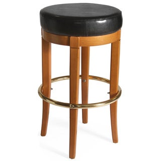 Columbus Upholstered Backless Barstool