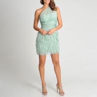 Xscape Women's One Shoulder Petal Skirt Party Dress
