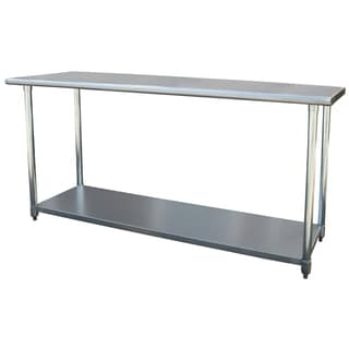 Sportsman Series Stainless Steel Work Table (24 x 72)