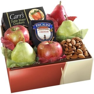 Tree Ripened Fruit and Cheese Gift Box